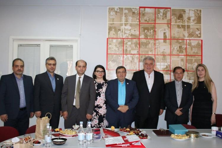 Memorandum of Understanding signed between Armenian Red Cross Society and Iranian Red Crescent