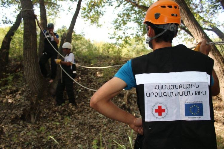 Շիրակի մարզի Կապս համայնքում տեղի ունեցավ Համայնքային կամավորական 15 թիմերի վարժանքը