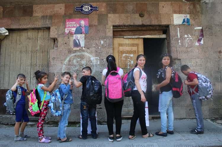 Հրազդանի հանրակացարանաբնակ երեխաները ժպիտներով կսկսեն ուսումնական տարին