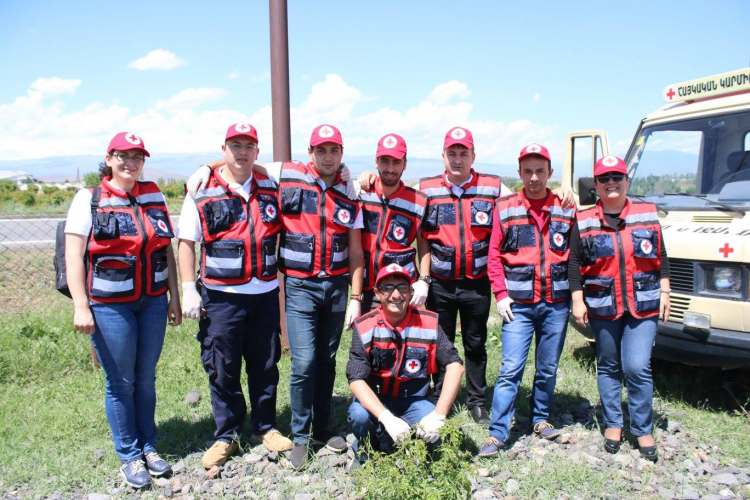 ARCS First Aid Team participated in joint Armenian-USA simulation