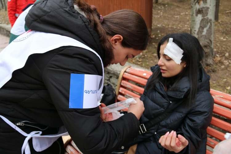 ԱՕ մրցումներ ՀԿԽԸ մասնաճյուղերի կամավորական թիմերի միջև