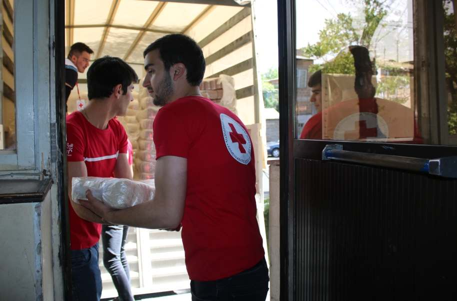Humanitarian aid for Syrian Armenian vulnerable families