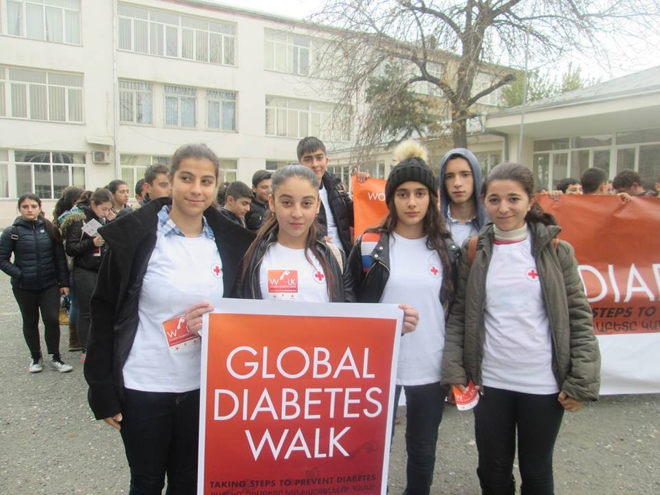 Շաքարային դիաբետի կանխարգելման և խնամքի վերաբերյալ կրթում