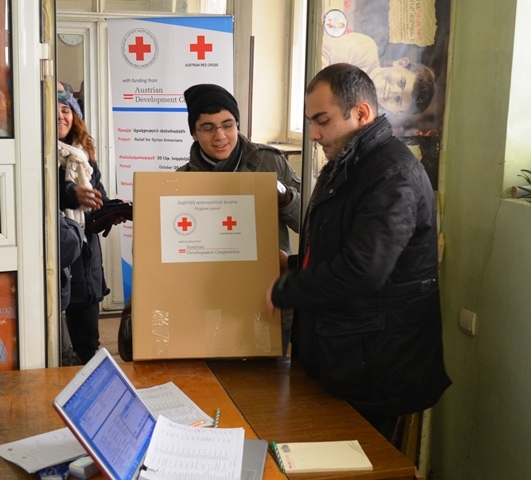 Relief for Syrian Armenians