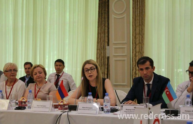Ազգային ընկերությունների ղեկավարների հանդիպումը Ալմաթիում