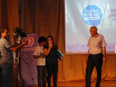 Հայկական Կարմիր խաչի ընկերությունը` «Մարդասիրության հերոս»