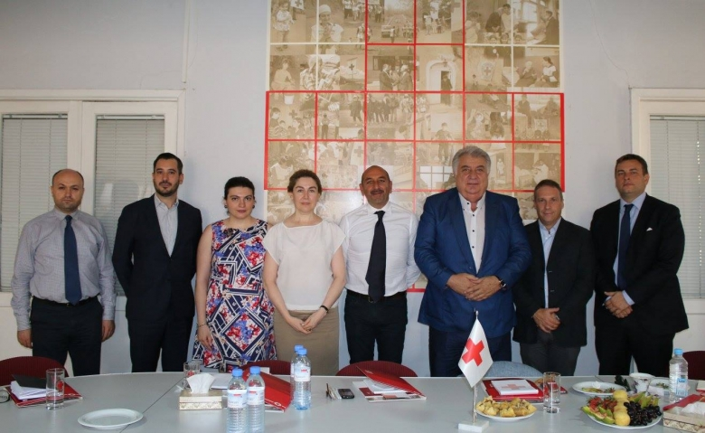 Italian Red Cross Delegation visit to Armenian Red Cross Society