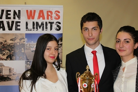 French University in Armenia Foundation team won the IHL National Moot Court Competition, 2014
