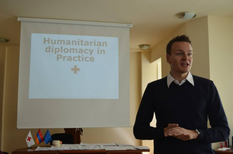 Humanitarian Diplomacy in Practice