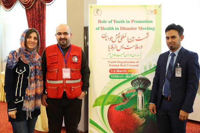 Role of youth in Promotion of Health in Disaster Meeting