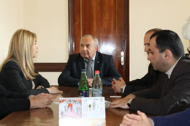 Discussion of Promotion of Community Homecare, Advocacy and Health among elderly and people in need project principles in Lori Regional Administration