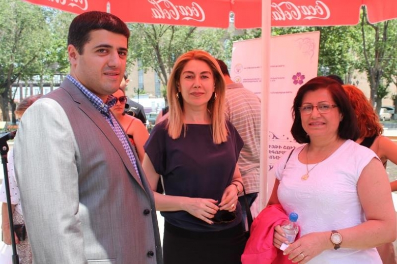 Fair-exhibition to support income-generating activities of Syrian Armenians