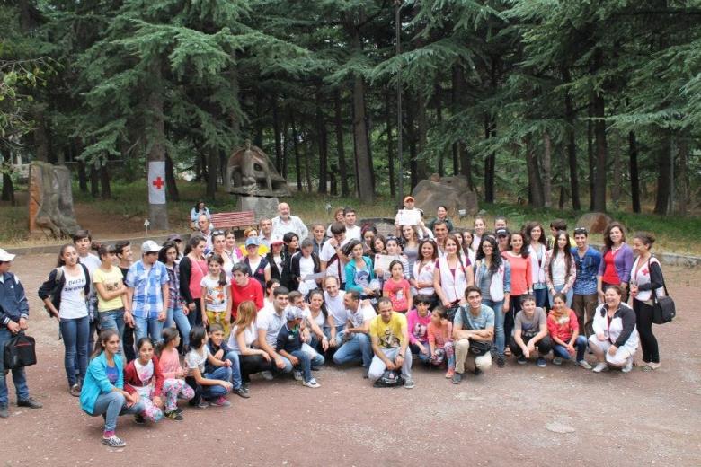 ՀԿԽԸ Առաջին օգնության կամավորական խմբերի տարածաշրջանային մրցումներ Իջևանում