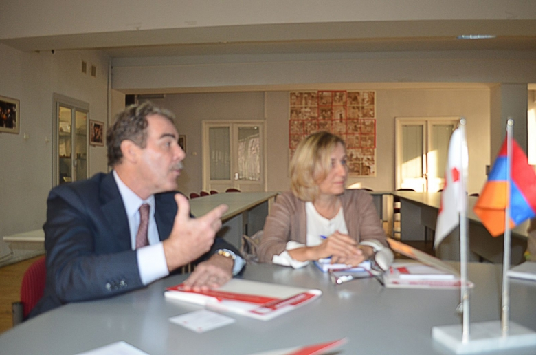 ICRC Regional Director for Europe and Central Asia visited ARCS