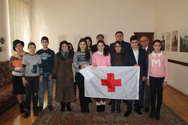 Schoolchildren of Tavush region presented essays on the RCRC Movement