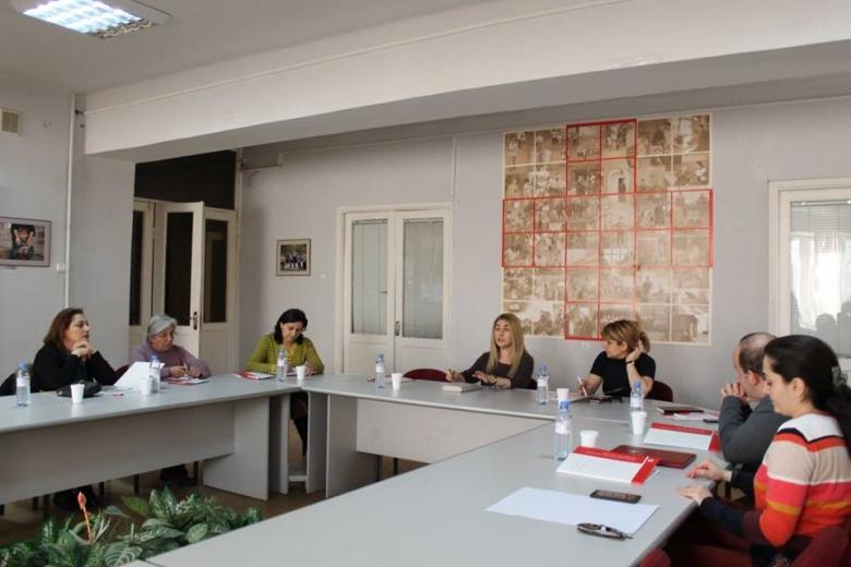 Տարեցների սոցիալական պաշտպանության և խնամքի տրամադրման հիմնախնդիրներով զբաղվող կառույցների ցանցի առաջին հանդիպումը