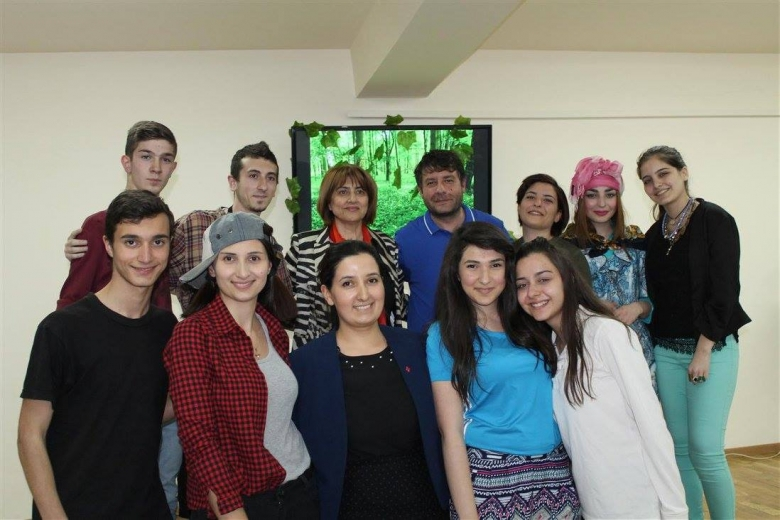 Amateur performance with participation of Syrian Armenian Youth