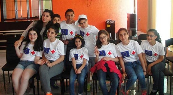 Summer School for Syrian Armenian children in the frams of Promoting Integration of Syrian Armenians project