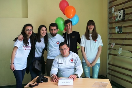 Syrian Armenian children organized an event for their peers