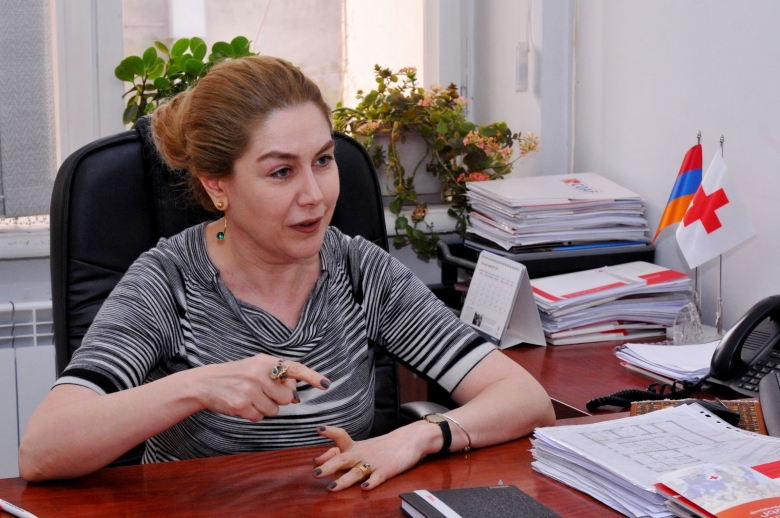 We are trusted and believed for already 97 years - Anna Yeghiazaryan, ARCS Secretary General