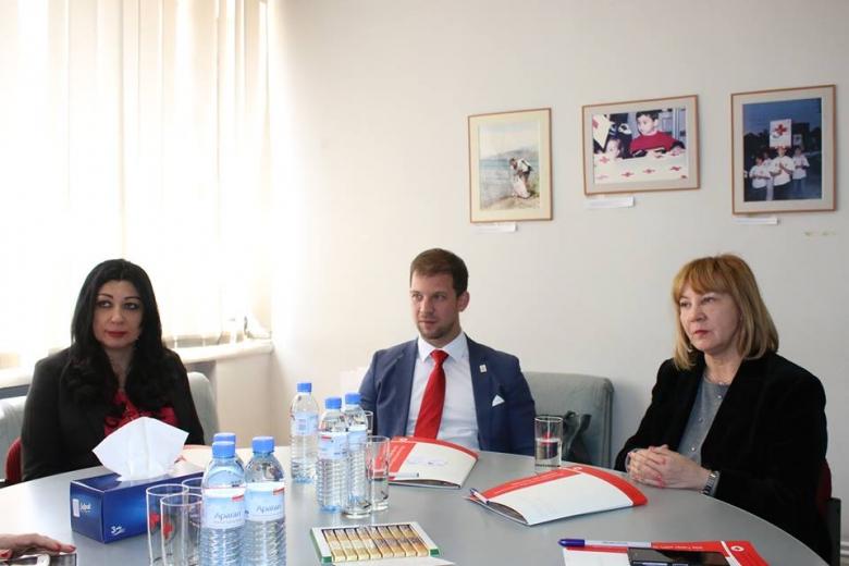 Խորվաթիայի Կարմիր խաչի պատվիրակությունը ՀԿԽԸ-ում