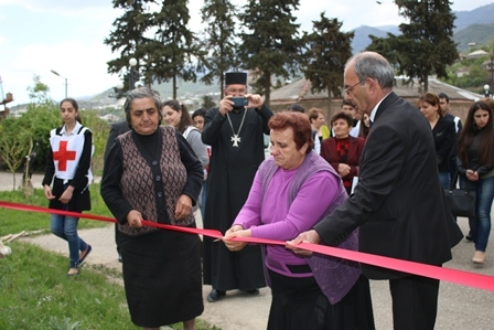 Tree planting in Tavush Region in the memory of Missing persons in Nagorno-Karabakh conflict