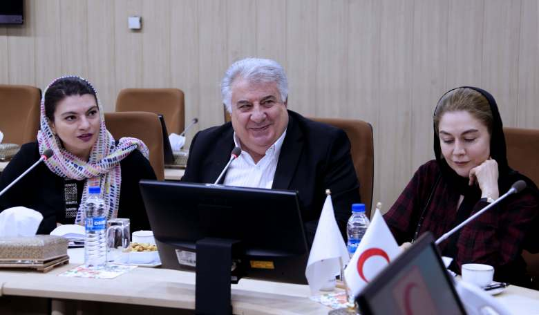 ARCS visit to Iranian Red Crescent