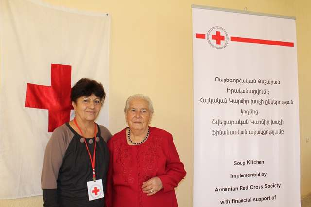 Red Cross saved me: Emma Gasparyan