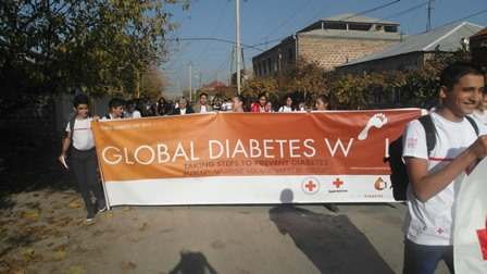 Global Diabets Walk 2017