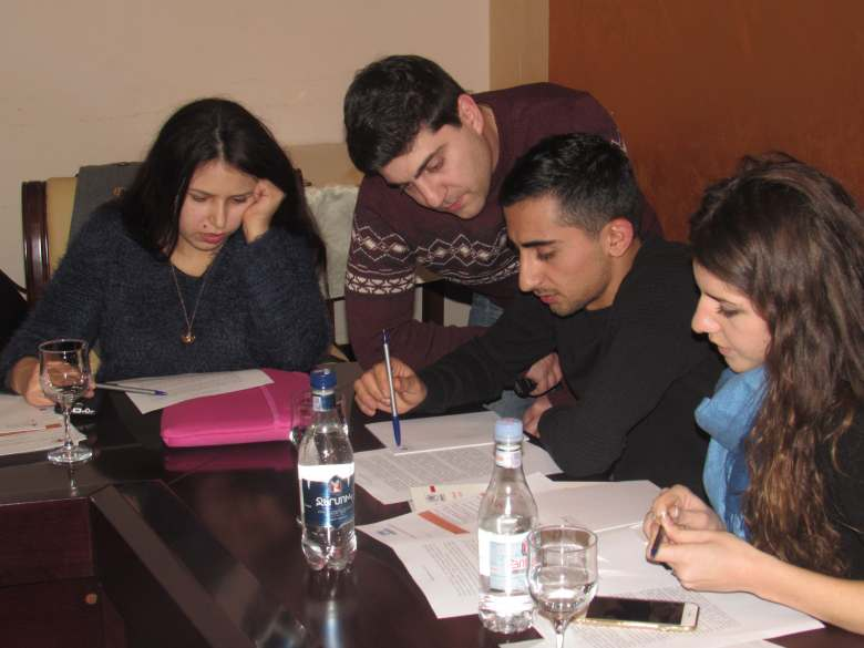 Winter school for Syrian Armenian and refugee youth