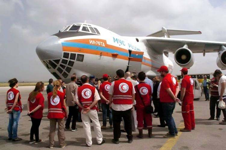 Humanitarian Aid for the people of Syria