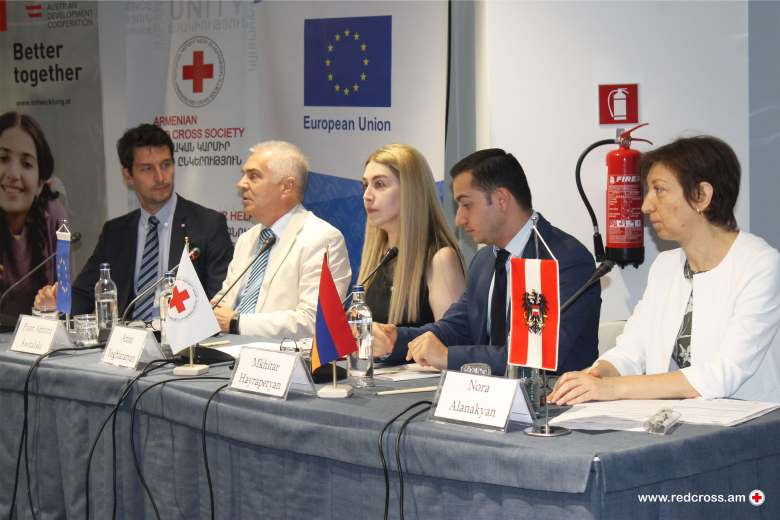 "Lunch of the Programme ""Increased Resilience of Syrian Armenians and Host Population"" (IRIS)"