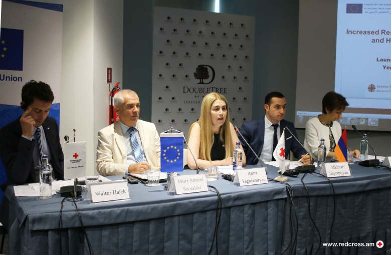 "Launch of the Programme ""Increased Resilience of Syrian Armenians and Host Population"" (IRIS)"