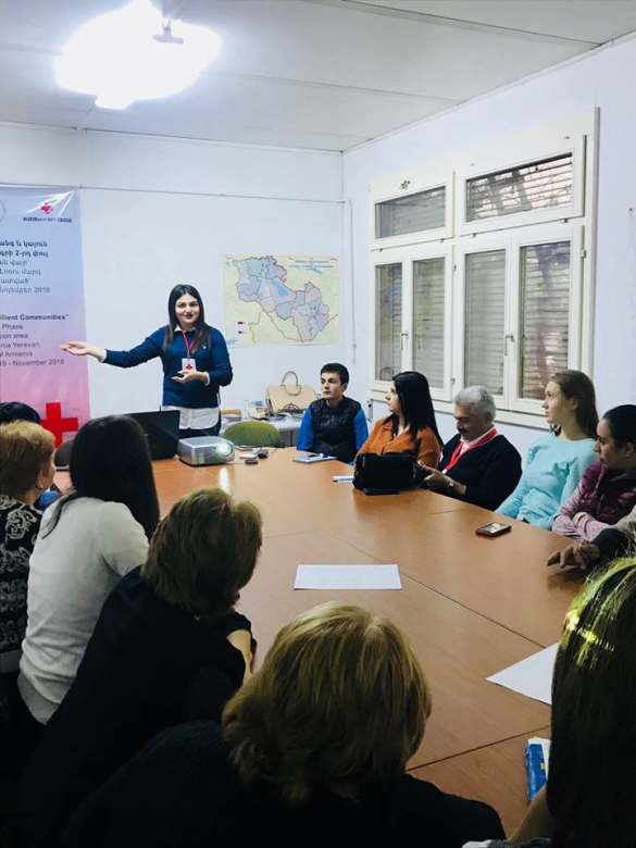 Capacity Building: Media literacy training for Lori RB volunteers