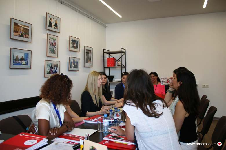 Swiss delegation visit to Armenian Red Cross Society