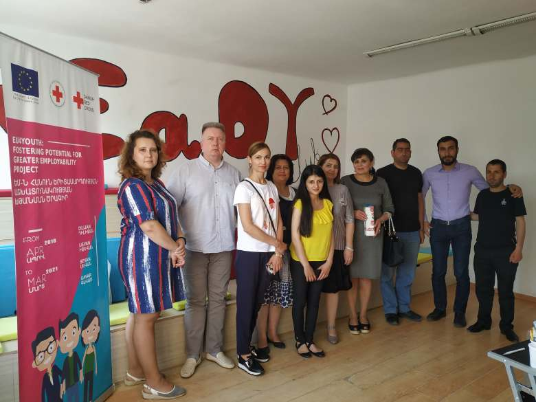 Belarus Red Cross Delegation visit to Armenian Red Cross Society