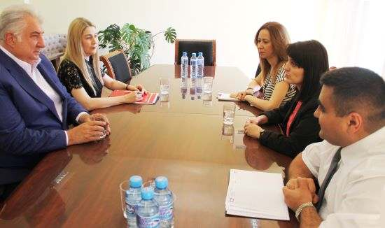 Meeting with RA Minister of Labor and Social Affairs
