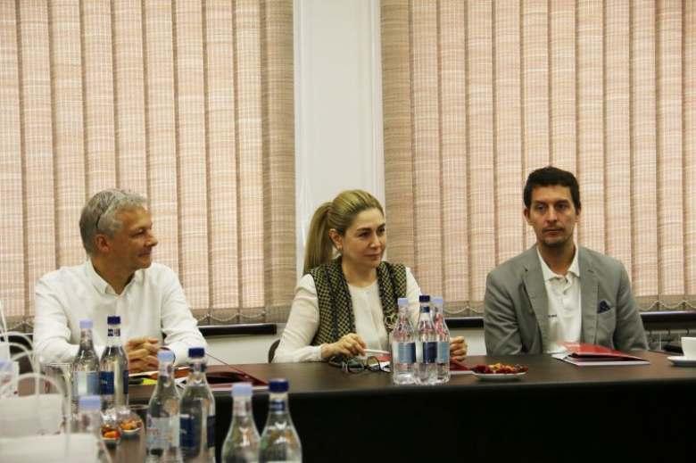 Visit of Austrian Red Cross delegation