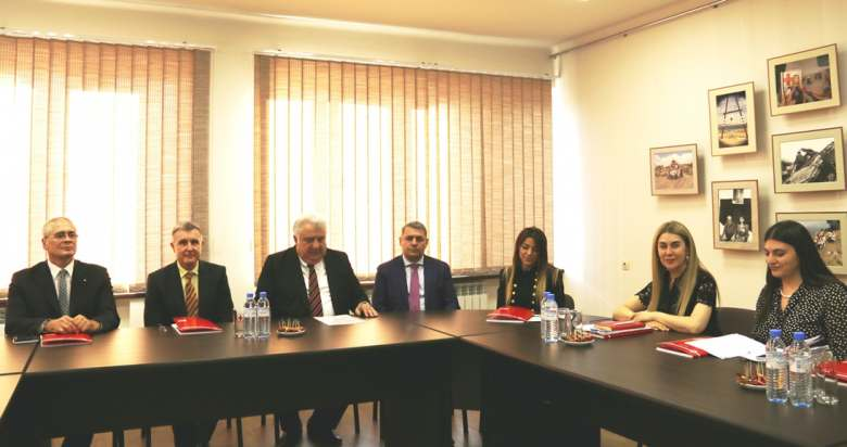 The visit of Prince of Radu of Romania  to Armenian Red Cross Society