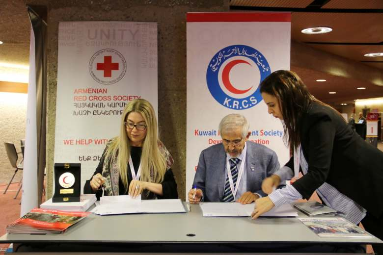 Armenian Red Cross Society will assist Syrian refugees  thanks to the cooperation with the Kuwait Red Crescent Society