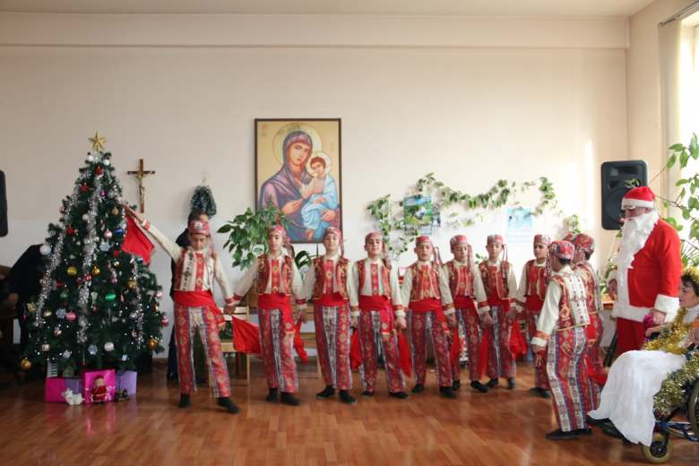 New Year was celebrated in Gyumri Redicential Care Home
