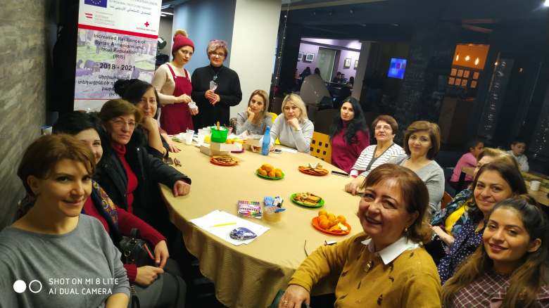 Syrian-Armenian women continue attending the events of Armenian Red Cross Society