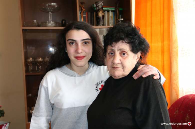 Edita Mkrtchyan.   The grandmothers' love, warmth, and genuine smile are so priceless