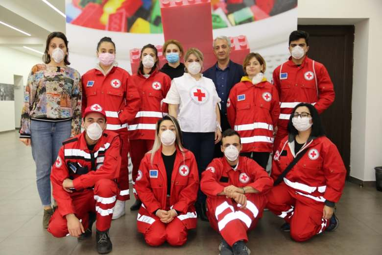 Armenian Red Cross Society  activities  in response to Covid-19 Pandemic