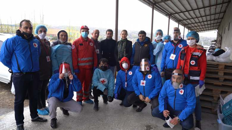 Armenian Red Cross Society responds to Covid-19