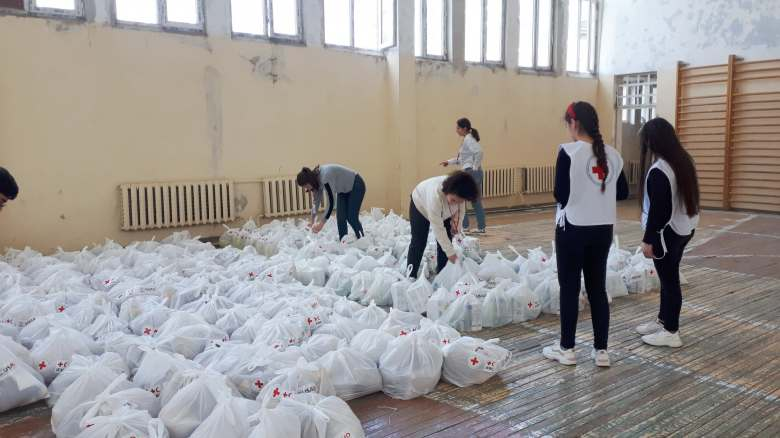Humanitarian Aid to the most vulnerable groups. Armavir