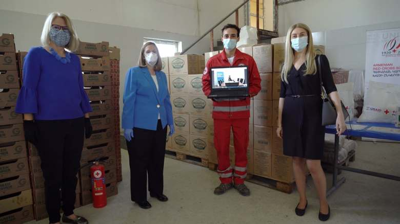 USA Government supports Armenian Red Cross Society to respond to Covid -19 pandemic
