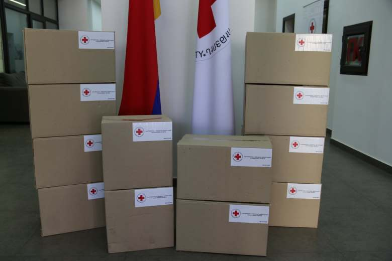 First aid kits to the border communities of Tavush