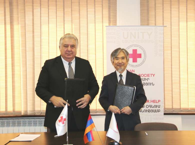 The Japanese government is supporting the development of garbage collection system in Ijevan