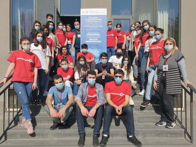 ՀԿԽԸ լիդեր_կամավորները վերապատրաստվեցին ԱՕ, էպիդեմիաների կանխարգելում թեմաներով